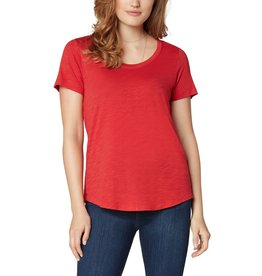 Liverpool Jeans Scoop Neck SS Tee True Red