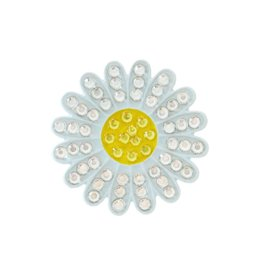 Navika Crystal Ball Marker Sunflower White