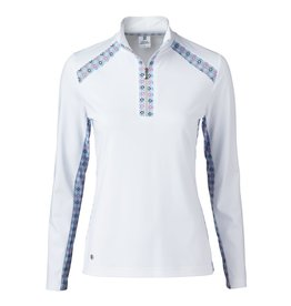 Daily Sports Sue LS Polo White