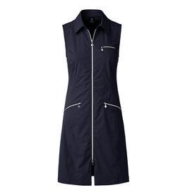 Daily Sports Glam Sleeveless Dress Navy