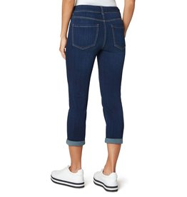 """Liverpool Jeans Gia Glider Cuffed 25""""/23"""" Griffith Dark"""