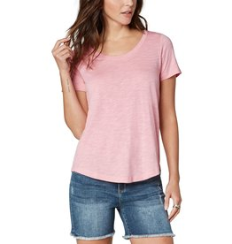 Liverpool Jeans Scoop Neck SS Tee Blush