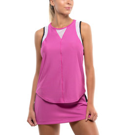 Lucky In Love Chill Out Tank Passion Raspberry