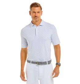 IBKul IBKul Out Sailing Short Sleeve Polo White