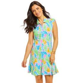 IBKul IBKul Allison Sleeveless Dress Multi