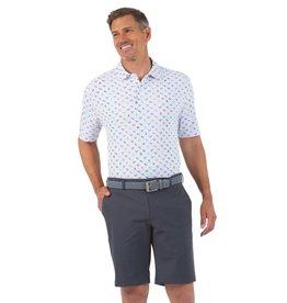 IBKul IBKul Grillin Short Sleeve Polo White