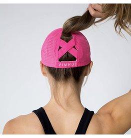 Vimhue Vimhue X-Boyfriend Cap Hot Pink