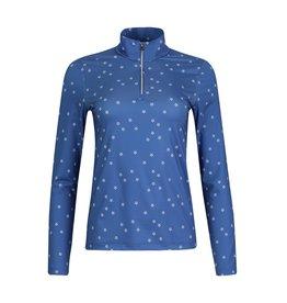 LOHLA Sport LOHLA Sport Lily Stars Long Sleeve Top Blueberry
