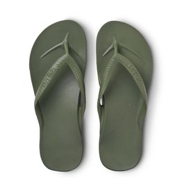 Archies Archies Arch Support Flip Flop Olive