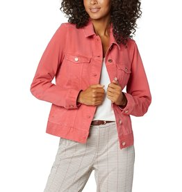 Liverpool Jeans Classic Jean Jacket Hot Coral