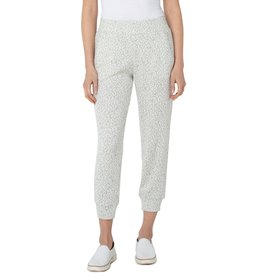 Liverpool Jeans Pull On Jogger Leopard Jacquard