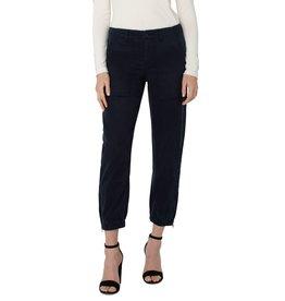 Liverpool Jeans Crop Utility Pant Carbon Blue