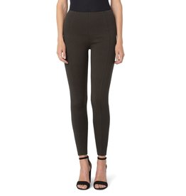 Liverpool Jeans Reese High Rise Ankle Legging Black/Olive Houndstooth