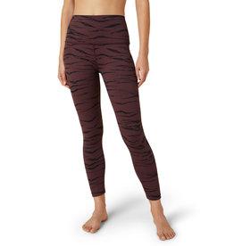 Beyond Yoga HIgh Waisted Midi Legging Rosewood Jacquard