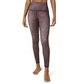 Beyond Yoga High Waisted Midi Legging Rosewood Dots