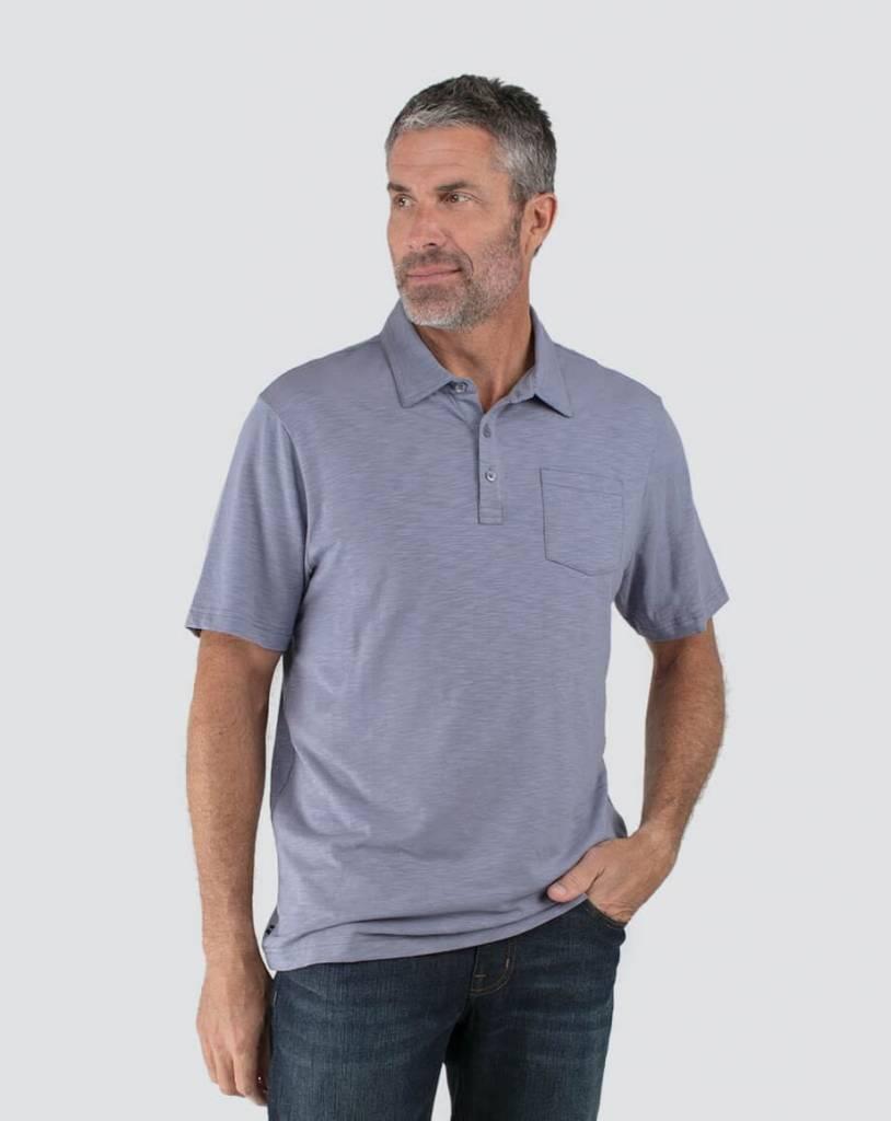 993234c2e Travis Mathew Logan Short Sleeve Polo - Alexandrite Active & Golf Wear