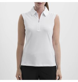Nivo Sport Nivo Nelly Sleeveless Polo White