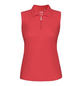 Nivo Sport Nivo Nelly Sleeveless Polo Red