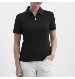 Nivo Sport Nivo Natasha Short Sleeve Polo Black