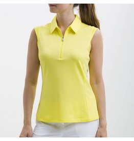 Nivo Sport Nivo Nelly Sleeveless Polo Lemon