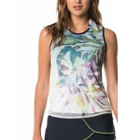 Lucky In Love Lucky In Love Tropical Trip Mesh Tank