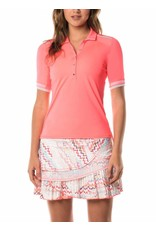 Lucky In Love Lucky In Love Demi Snap Polo Lava
