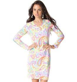 IBKul IBKul Pippa V-Neck Dress