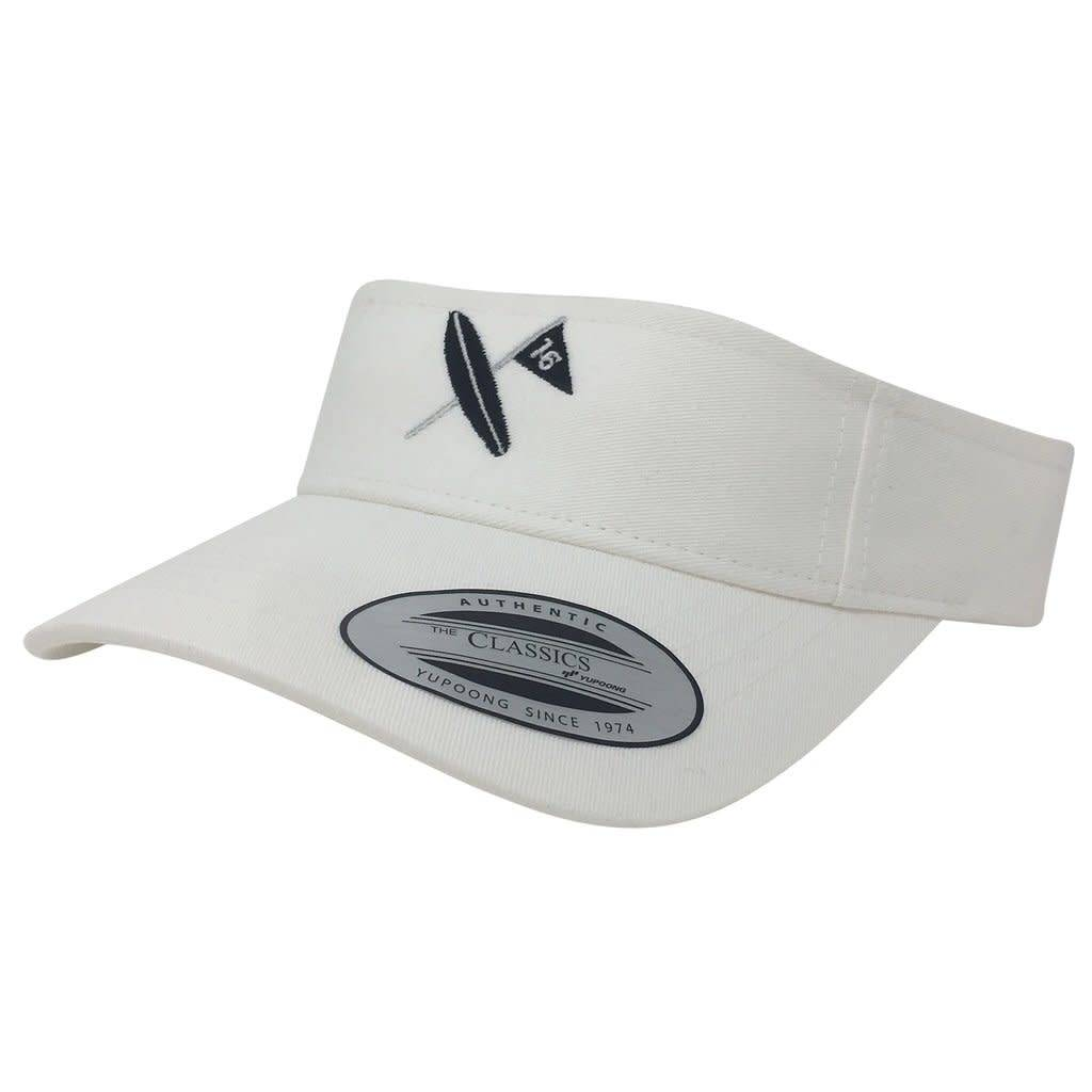 Surf & Turf Golf Surf & Turf Golf Kona 1 Visor White
