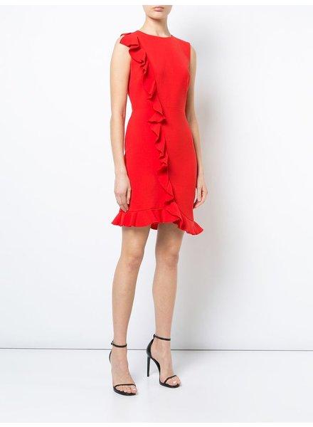Nicole Miller Ruffle front dress