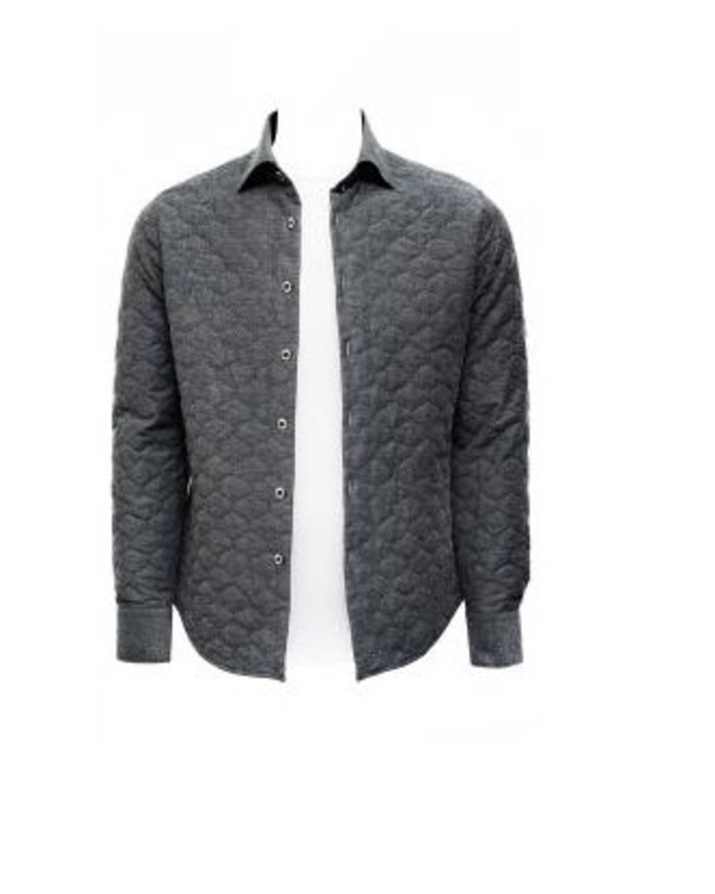 Stone Rose Portland Quilted shirt. jacket