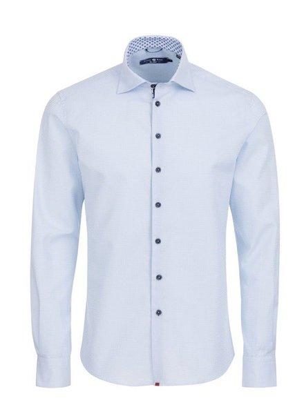 Stone Rose Waffle Texture Long Sleeve Shirt