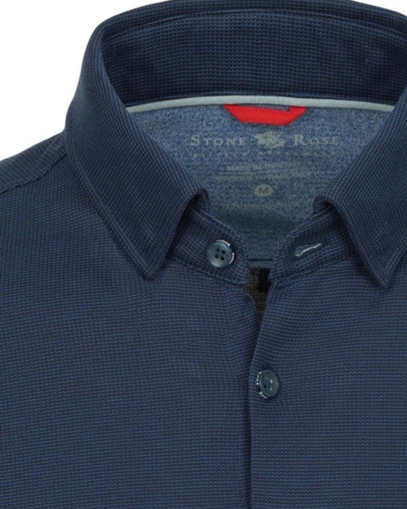 Texture Knit Long Sleeve Shirt