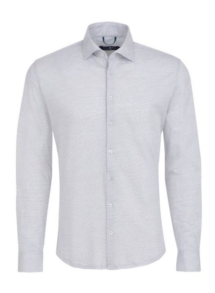 Jacquard Knit Long Sleeve Shirt
