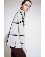 Kokun Double scale window cashmere sweater