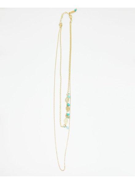 verdigris Alim necklace