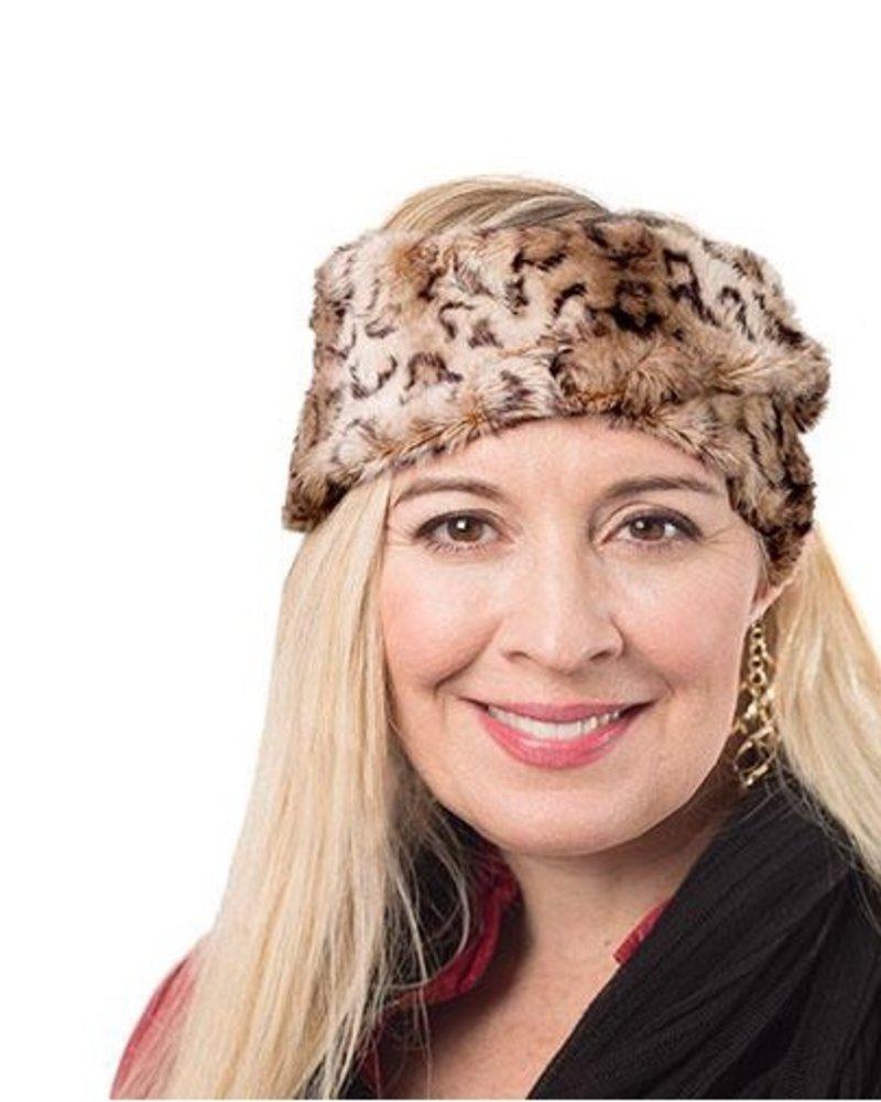 verdigris Headband faux fur, Carpathian