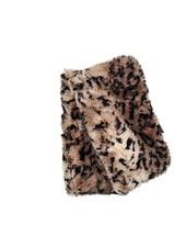 Fingerless faux fur, reversable in Carpathian