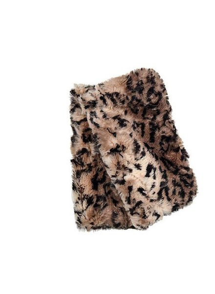 Fingerless faux fur, reversable in Carpathian