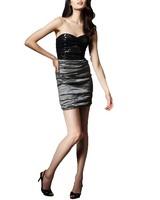 Nicole Miller Strapless Sequin Dress by Nicole Miller