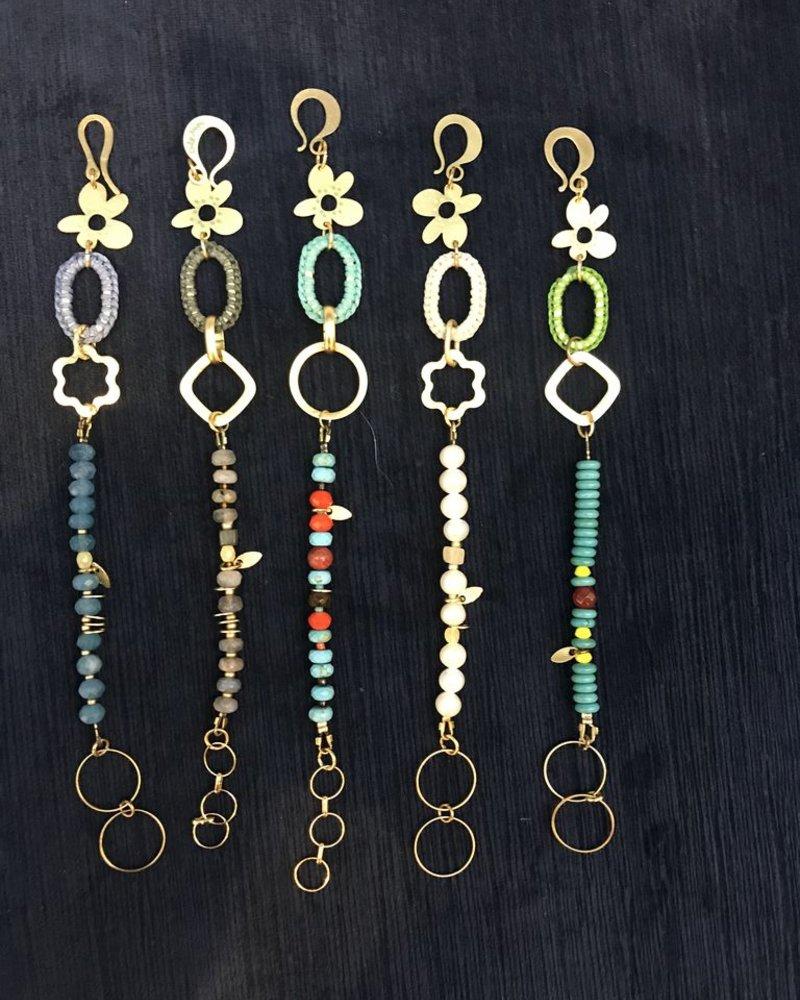 verdigris Bar Bracelet