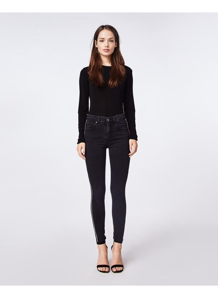 Nicole Miller High rise skinny details jeans