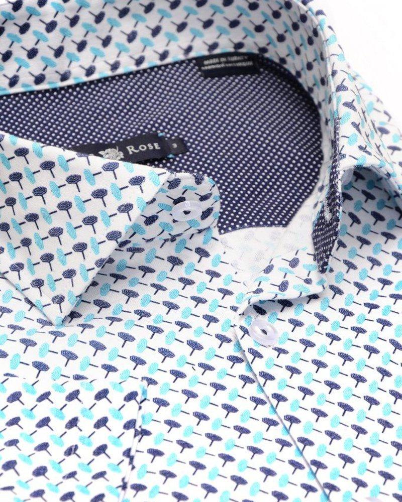 Stone Rose Parasol Knit short sleeve shirt