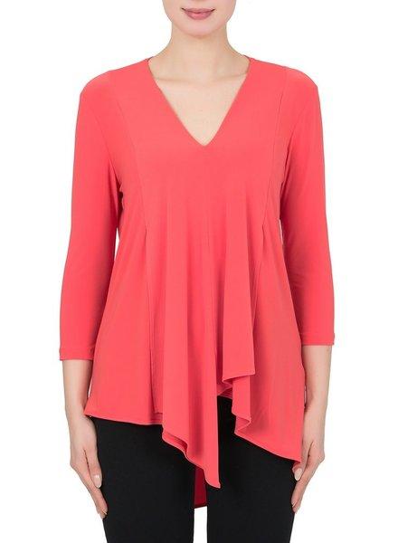 Joseph Ribkoff Asymmetrical blouse