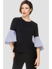 Joseph Ribkoff beautiful exaggerated poet sleeves blouse
