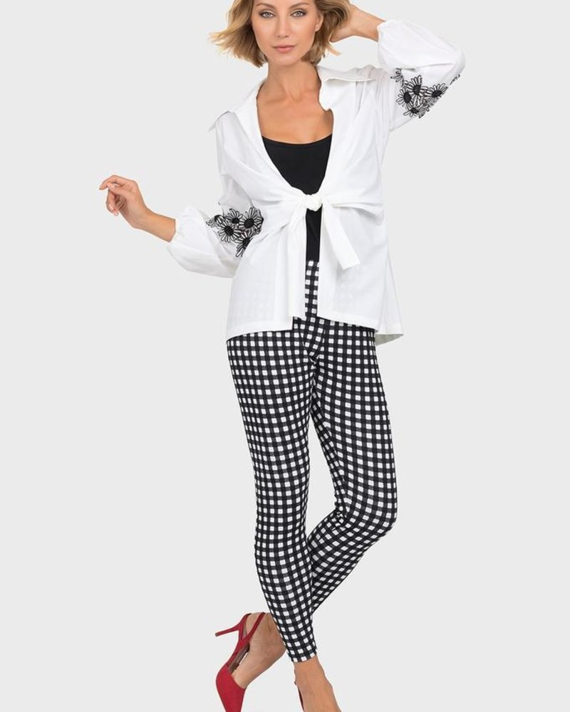 Joseph Ribkoff Twin set, wide sleeves with details