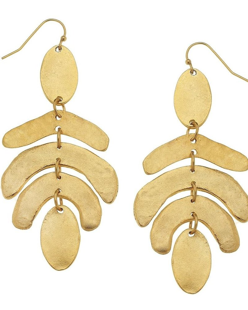 Susan Shaw Abstract Hive Earrings