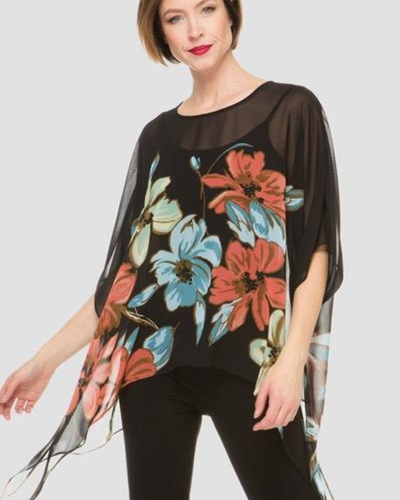 Joseph Ribkoff Cover up style blouse