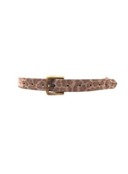 Ada Cheetah print belt
