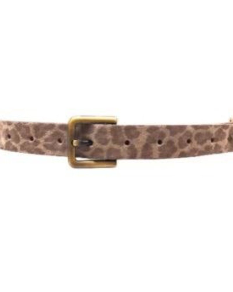 Ada Cheetah print belt