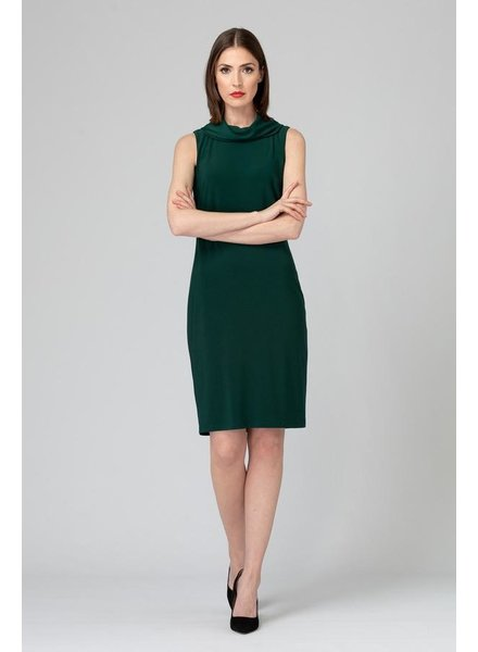 Joseph Ribkoff Cowl neckline dress